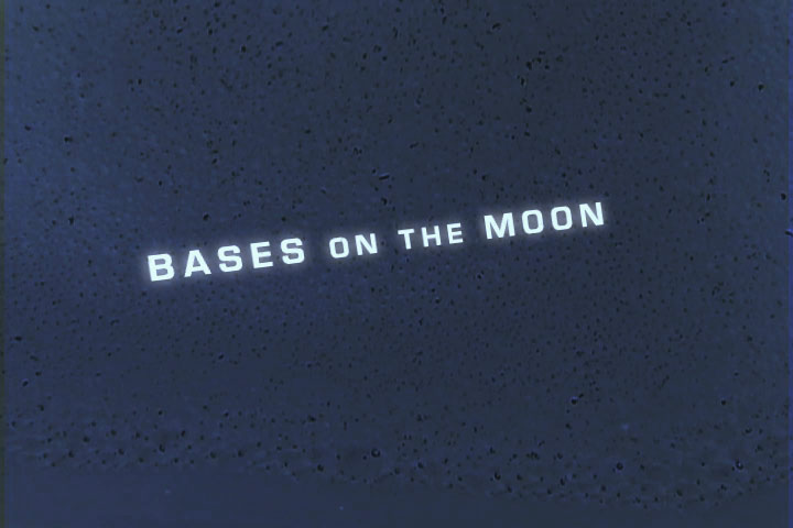 2001 Film Trailer 1 - Bases on the Moon by Kyle McGuire