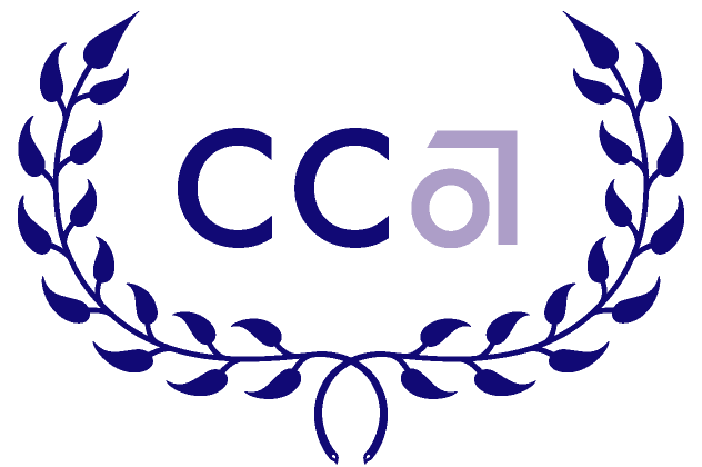 CCA Giving Wordmark Laurel Logo by Kyle McGuire